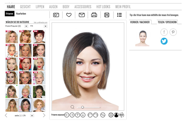 haar frisuren online ausprobieren moderne mà nnliche und